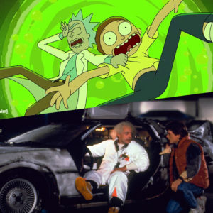 Queens Drive-In: Back to the Future + Rick and Morty (Double Feature)